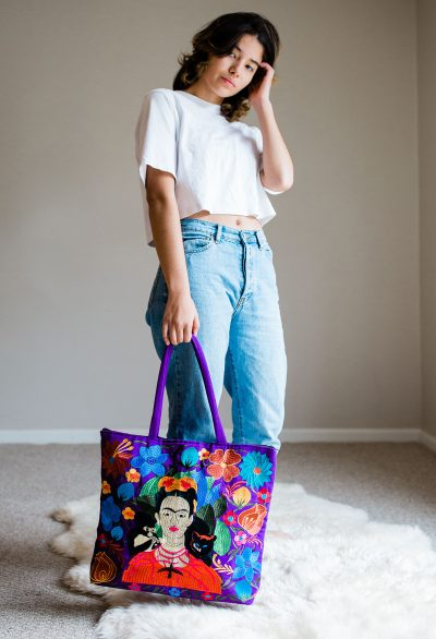 APU-173_Embroidered_Tote_Bag_Frida (2)_web