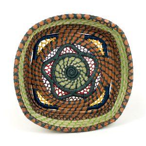 Estrella Basket Mayan Hands
